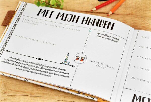 O'Baby by Pauline - Opgroeiboek - binnenkant 2 - invulboekjes.nl