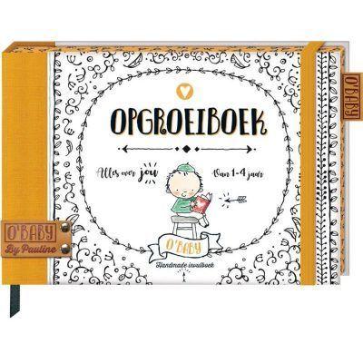 O'Baby by Pauline - Opgroeiboek - voorkant - invulboekjes.nll