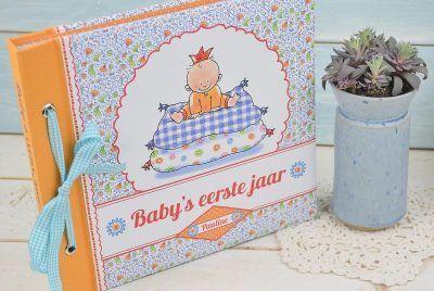 Pauline Oud - Baby's eerste jaar - voorkant 2 - invulboekjes.nl