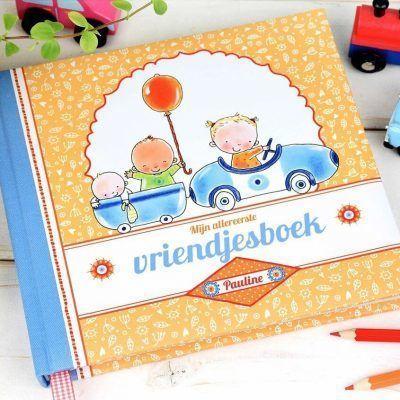 Pauline Oud - Mijn allereerste vriendjesboek - voorkant 2 - invulboekjes.nl