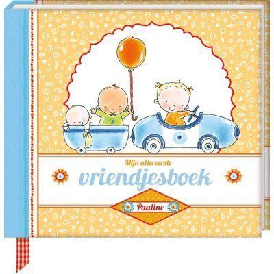 Pauline Oud - Mijn allereerste vriendjesboek - voorkant- invulboekjes.nl