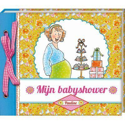 Pauline Oud - Mijn babyshower - voorkant - invulboekjes.nl