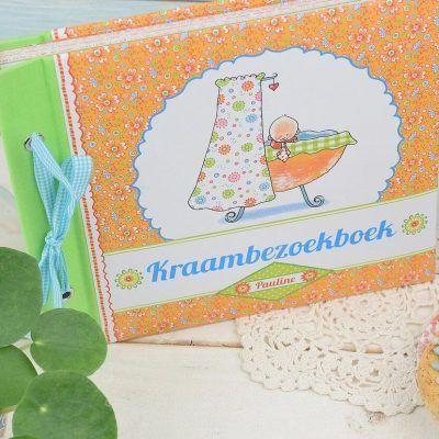 Pauline Oud - Mijn kraambezoekboek - voorkant 2 - invulboekjes.nl