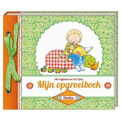 Pauline Oud - Mijn opgroeiboek - voorkant - invulboekjes.nl