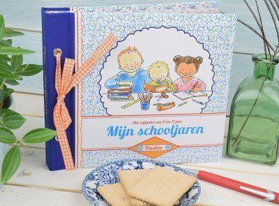 Pauline Oud - Mijn schooljaren - voorkant 2 - invulboekjes.nl
