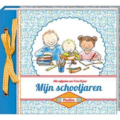 Pauline Oud - Mijn schooljaren - voorkant - invulboekjes.nl