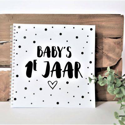 SilliBeads Baby's eerste jaar - Wire-O - voorkant - invulboekjes.nl