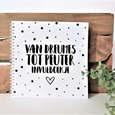 SilliBeads Van dreumes tot peuter invulboekje - Wire-O - voorkant - invulboekjes.nl