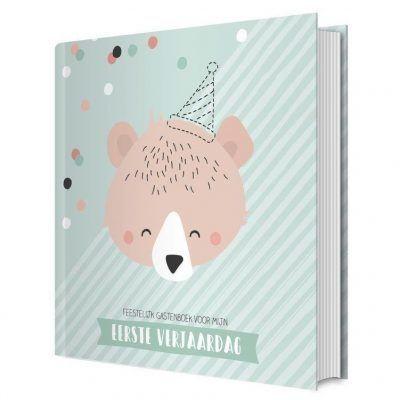 Tante Kaartje Mijn eerste verjaardag gastenboek Gastenboek