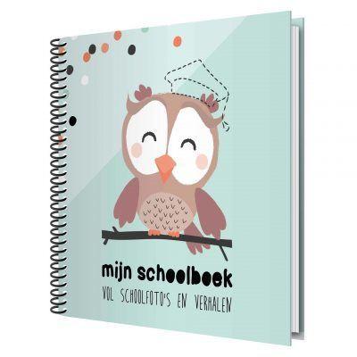 Tante Kaartje Mijn schoolboek - voorkant - invulboekjes.nl