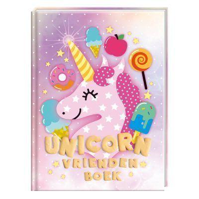 Unicorn Vriendenboek - voorkant - invulboekjes.nl