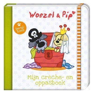 Woezel & Pip - Mijn creche en oppasboek - voorkant - invulboekjes.nl