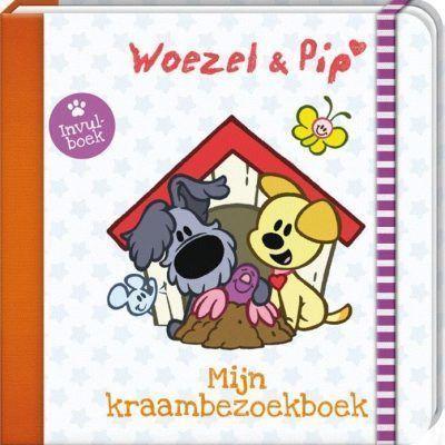 Woezel & Pip - Mijn kraambezoekboek - voorkant - invulboekjes.nl