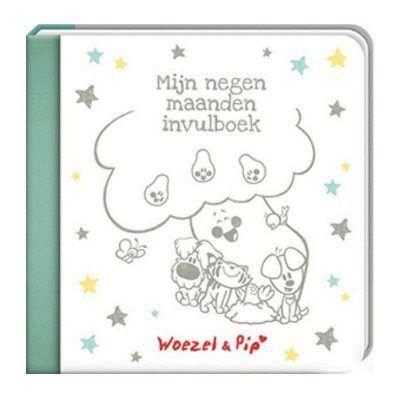 Woezel & Pip - Mijn negen maanden invulboek - voorkant - invulboekjes.nl