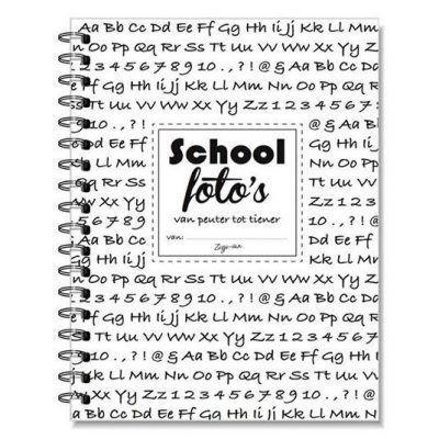 Zusje-van Schoolfotoboek - voorkant - invulboekjes.nl