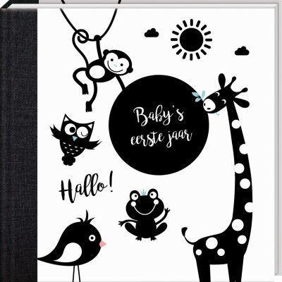 Hello Baby - Baby's eerste jaar - voorkant - invulboekjes.nl
