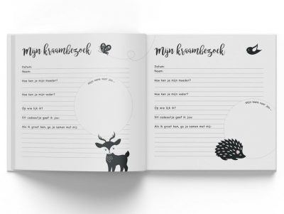 Hello Baby - Hallo! Kraambezoek - binnenkant - invulboekjes.nl
