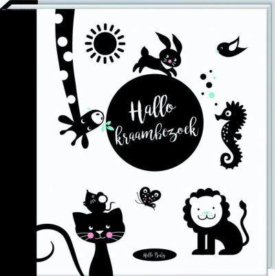 Hello Baby - Hallo! Kraambezoek - voorkant - invulboekjes.nl