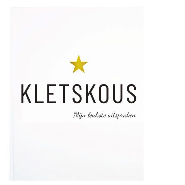 Lifestyle2Love Kletskous uitsprakenboekje - voorkant - invulboekjes.nl