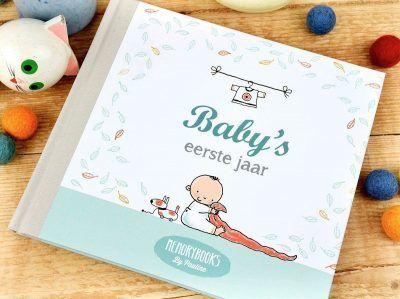 Memorybooks by Pauline - Baby's eerste jaar - voorkant 2 - invulboekjes.nl