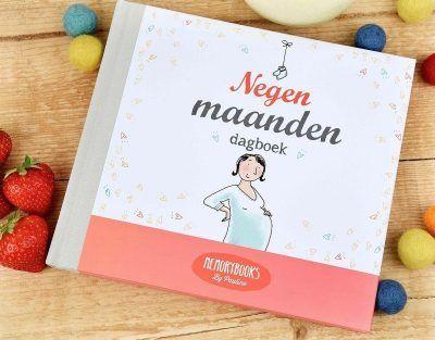 Memorybooks by Pauline - Negen maanden dagboek - voorkant 2 - invulboekjes.nl