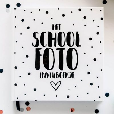 SilliBeads Het Schoolfoto invulboekje - Hardcover - voorkant - invulboekjes.nl