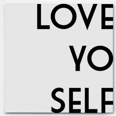 Bonjour to you - Love yo self invulboek - voorkant 2- invulboekjes.nl