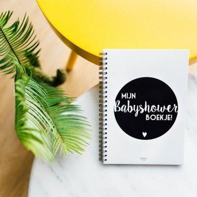 Bonjour to you - Mijn babyshower boekje - voorkant 2 - invulboekjes.nl