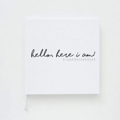 Creations of Happiness - Hello, here I am! Kraambezoekboek 1
