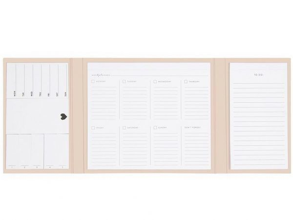 HOP Deskplanner - Ivory - binnenkant 2 - invulboekjes.nl
