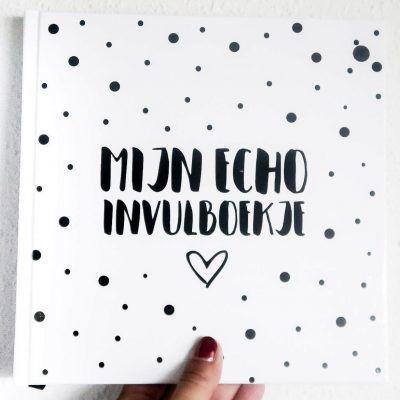 Hardcover - Mijn Echo Invulboekje (1)