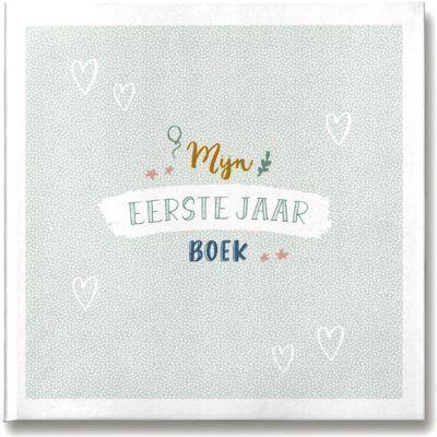 Maan Amsterdam - Mijn eerste jaar boek - voorkant - invulboekjes.nl