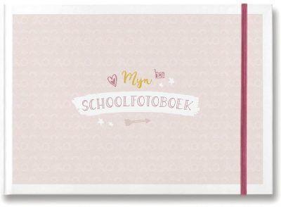 Maan Amsterdam - Mijn schoolfotoboek - Roze - voorkant - invulboekjes.nl