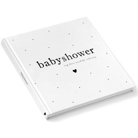 Babyshower invulboek