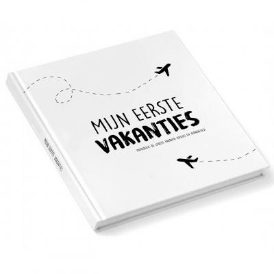 Pink Peach - Mijn eerste vakanties invulboek - Original - voorkant - invulboekjes.nl