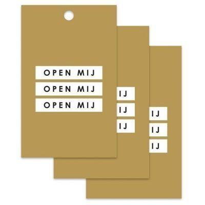 HOP Cadeaulabels - Open mij 2 - invulboekjes.nl