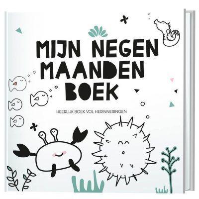 Invulboek Mijn negen maanden boek - invulboekjes.nl - 9789463543842