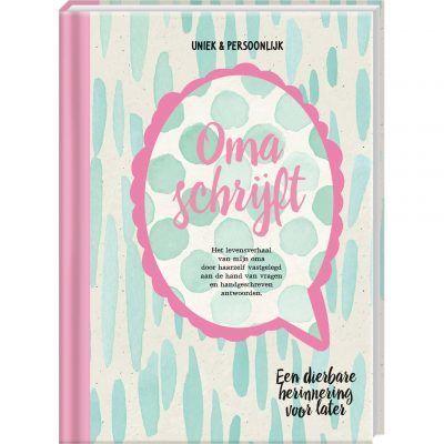 Invulboek Oma schrijft - invulboekjes.nl