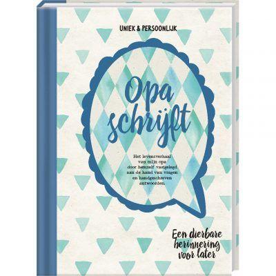 Invulboek Opa schrijft - invulboekjes.nl