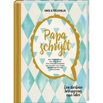 Invulboek Papa schrijft - invulboekjes.nl