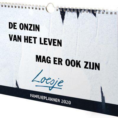 Loesje Familieplanner 2020 - invulboekjes.nl