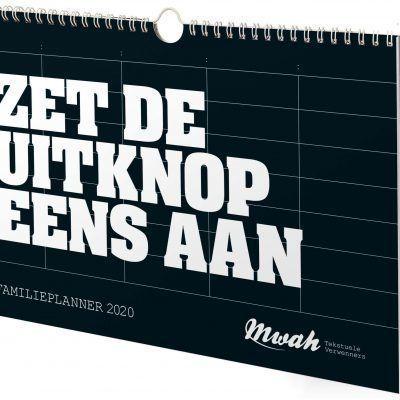Mwah Familieplanner 2020 -voorkant- invulboekjes.nl