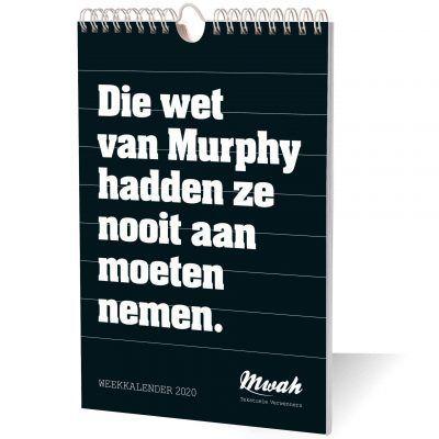 Mwah Weekkalender 2020 - invulboekjes.nl