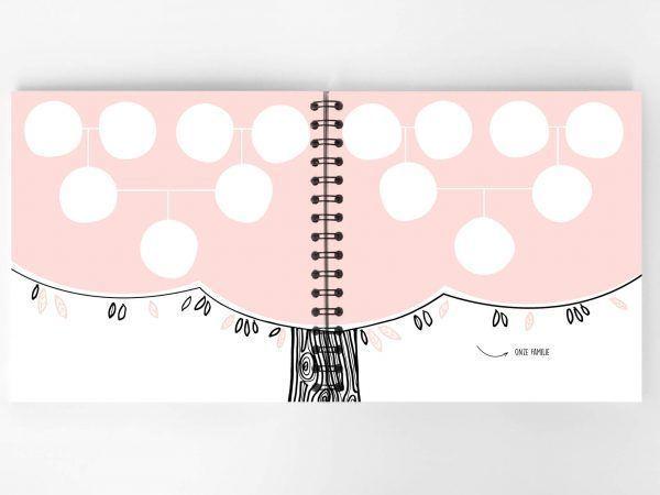 Atelier Pix - Hallo baby - Eerste jaar boek - Roze - 3 - invulboekjes.nl