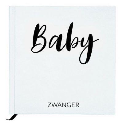 Baby Bunny - Baby zwanger - White - invulboekjes.nl