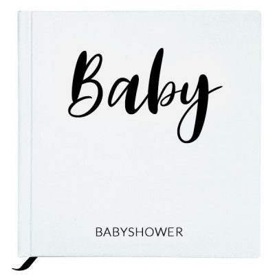 Baby Bunny - Babyshowerboek - White - invulboekjes.nl