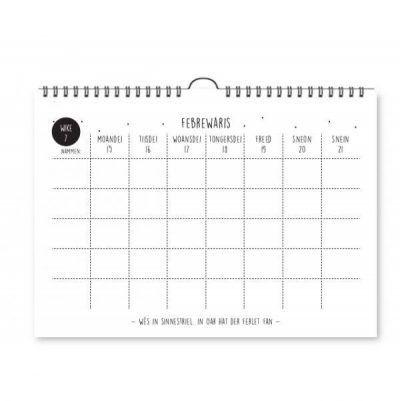 Krúskes Famyljeplanner 2021 – A4 Familie kalender