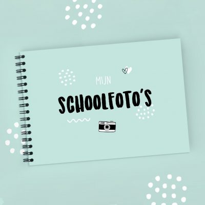 Atelier Pix - Mijn schoolfotoboek - Mint - 2 - invulboekjes.nl