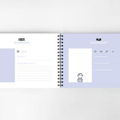 Atelier Pix - Mijn schoolfotoboek - Mint - binnenkant 2 - invulboekjes.nl