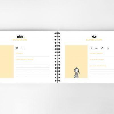 Atelier Pix - Mijn schoolfotoboek - Mint - binnenkant 4 - invulboekjes.nl